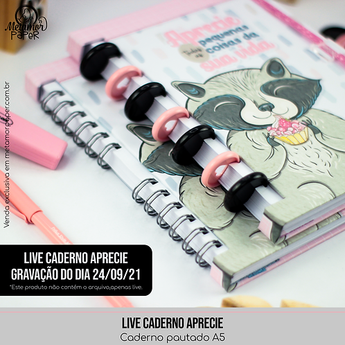 Live Caderno Aprecie-Gravação do dia 24-09-21