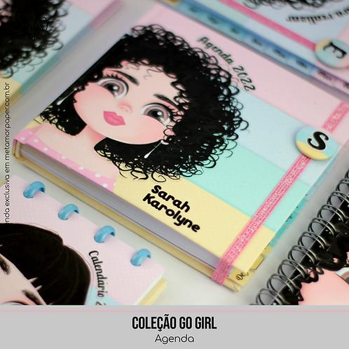 Mini Agenda 14,8x14,8cm Go Girl permanente