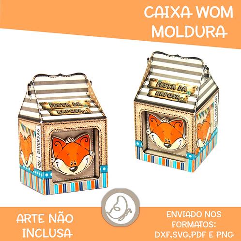 Caixa Wom Moldura