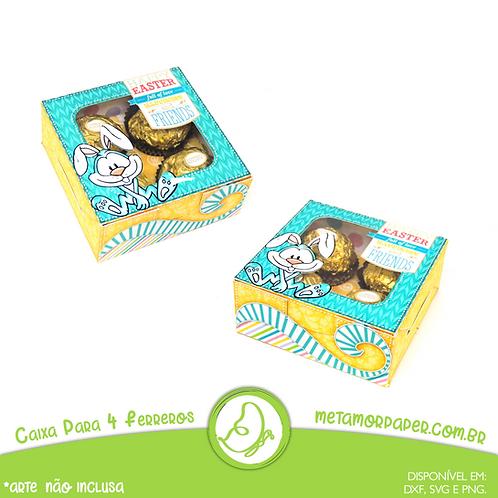 Caixa Para 4 Ferreros