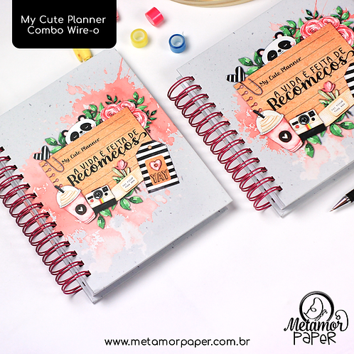 My Cute Planner Combo Wire-o/Espiral