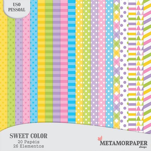 Kit Digital Sweet Color