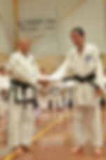 First Tae Kwon Do Perth - Msster Vernon Low promoting Dylan March 2016