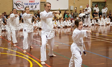 First Taekwondo Perth beginners exam