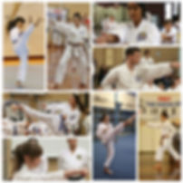 First Taekwondo Perth teenage students collage