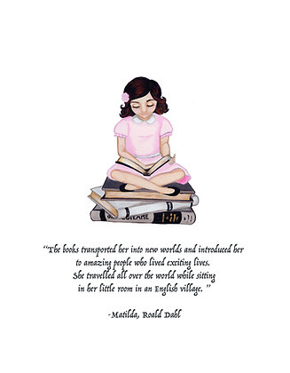 Matilda On The Books