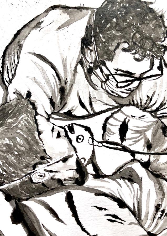 Pieta (detail)