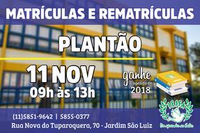 IESFA - Plantão para Matrículas e Rematrículas 2018