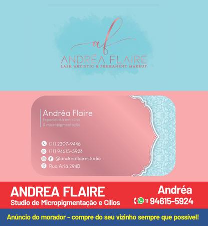ANDREA FLAIRE - Micropgmentacao e cilios