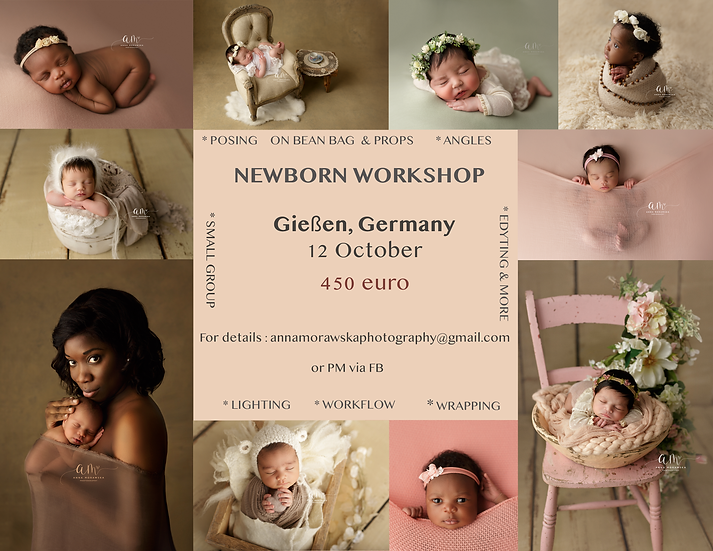 NEWBORN WORKSHOP GERMANY 12 October SOLD OUT