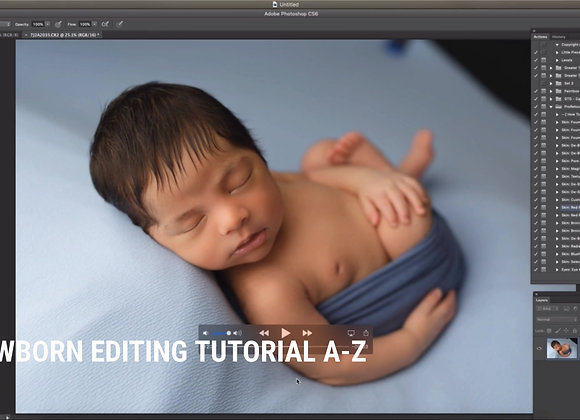 NEWBORN EDITING TUTORIAL A-Z