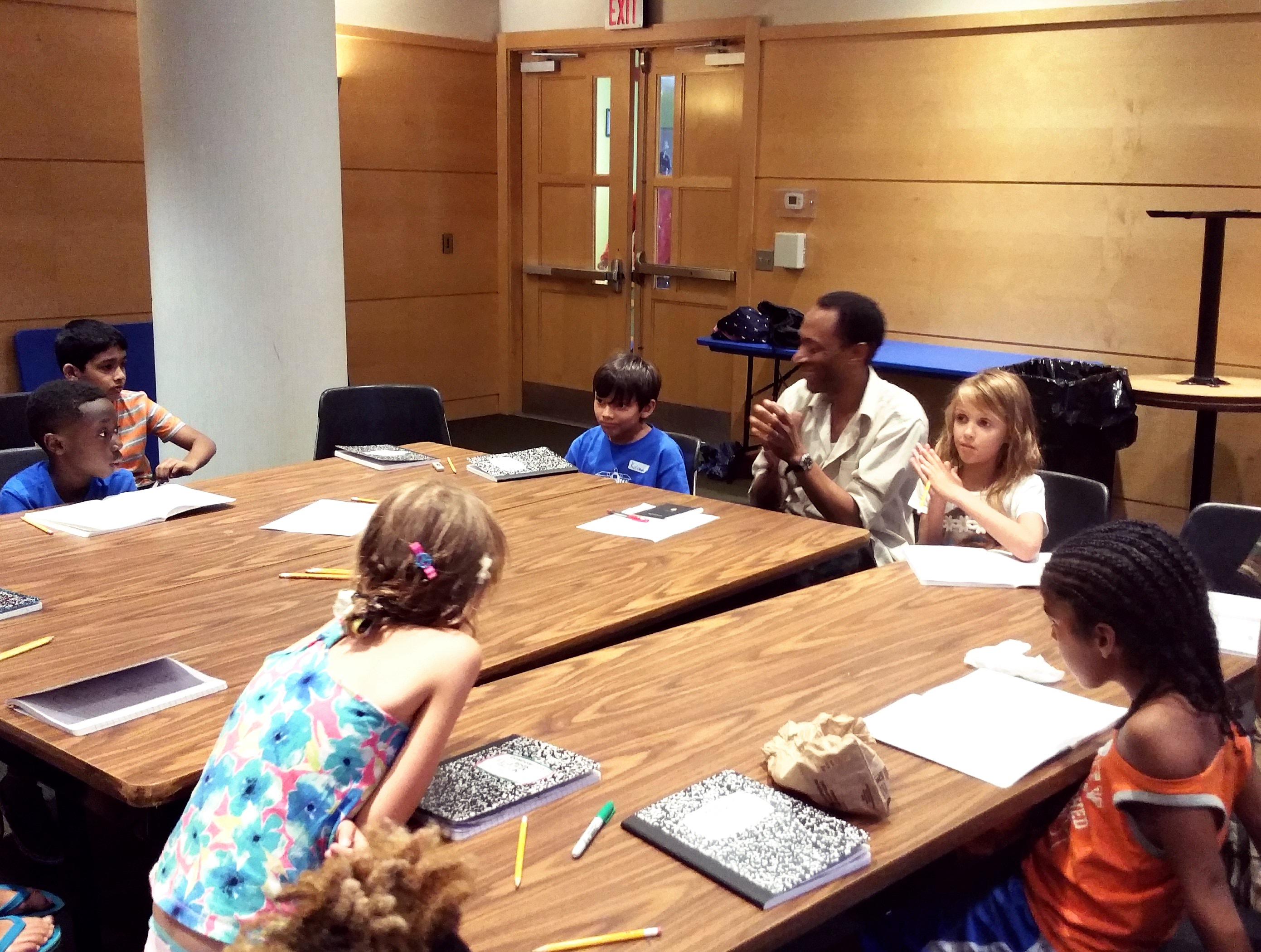 Storybuilding Camp 1- 2016
