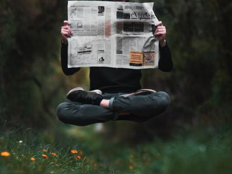 Mein Jahr ohne Zeitung