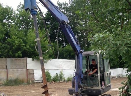 Мини-экскаватор в Серпухове и Чехове