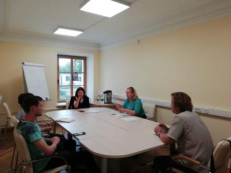 Рабочая встреча по подготовке и проведению мероприятий в рамках  международного Проекта «Живая памят