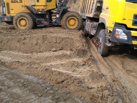 Песок в Серпухове и Чехове