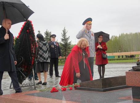 9 мая 2020 года на Федеральном военном мемориальном кладбище Минобороны РФ состоялось мероприятие