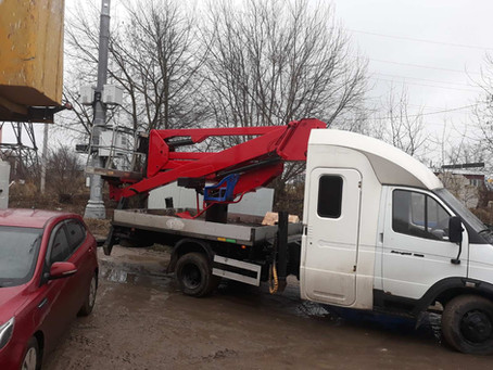 Автовышка в Чехове и Серпухове