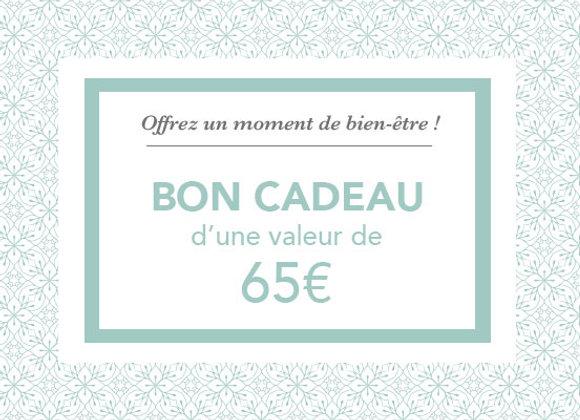 Bon cadeau 65€