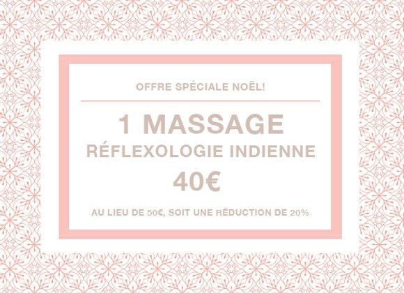 Massage réflexologie indienne