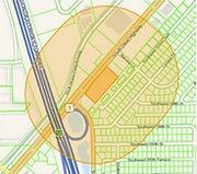 image of radius map