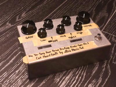 Yin-Yang Bass Drive Pre-Amp Proto