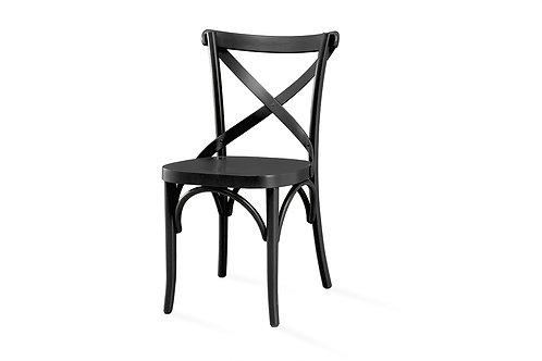 Cadeira X Laca Preta Fosca