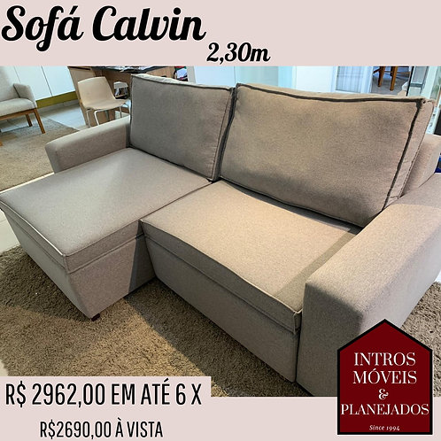 Sofa Calvin Retrátil - 2,30m