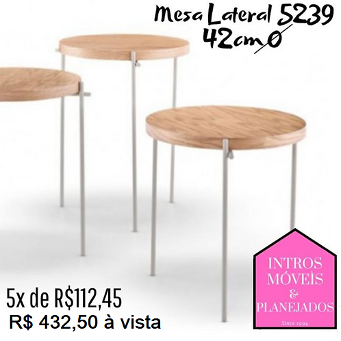 Mesa Apoio/Lateral - 5239