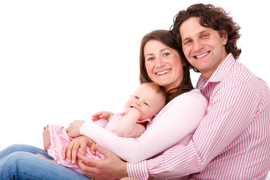 Happy Family Protected  with Insurance