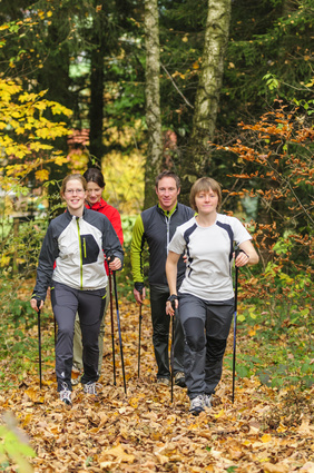 Nordic Walking - Teamherausforderung