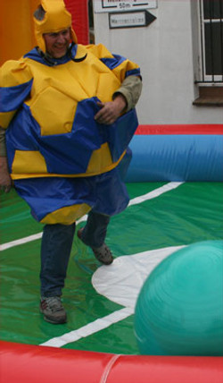 Fußball-Sumo