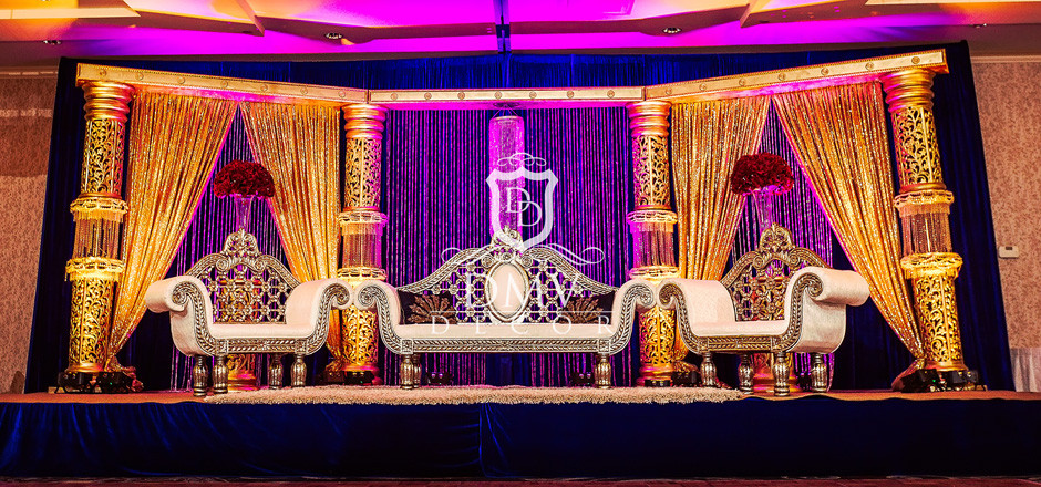 Gold-Royal Blue-Red-Theme-Stage