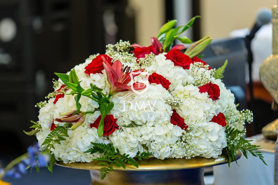 Aisle Flower Arrangement