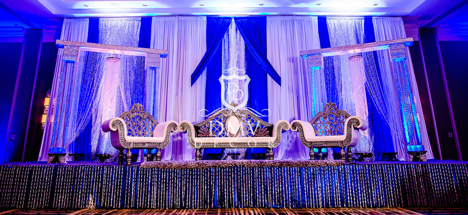 Reception-Stage-Decor-White-Silver