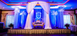 Royal Blue, Plume-Ostrich-Feathers-Decor