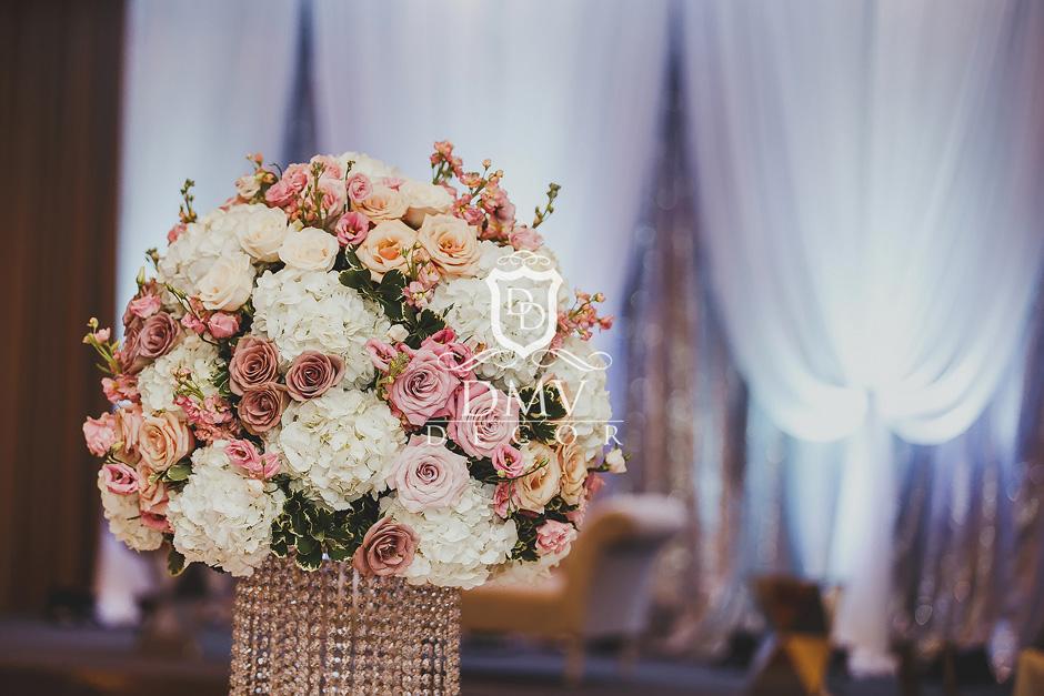 Fresh Flower Mave Light Pink & White