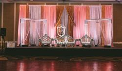 Reception-Silver-Coral-Wedding-Decoration