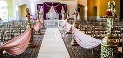 Purple-Chuppah-Mandap-Decoration-Aisle