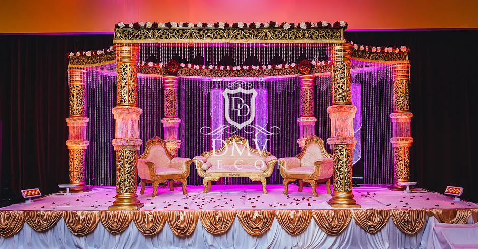 Gold-Crystal-Mandap