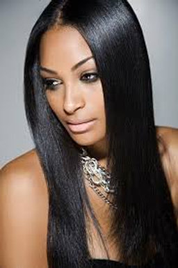 STRAIGHT HUMAN HAIR  BRAZILIAN/INDIAN  MONGOLIAN HAIR