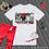 Thumbnail: Black Couture   inDmix   T-shirt (Black, White)