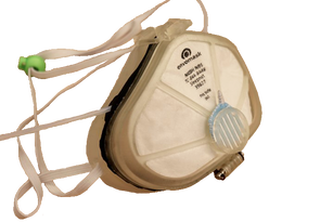 N95 Mask with Integrated Nasal Cannula