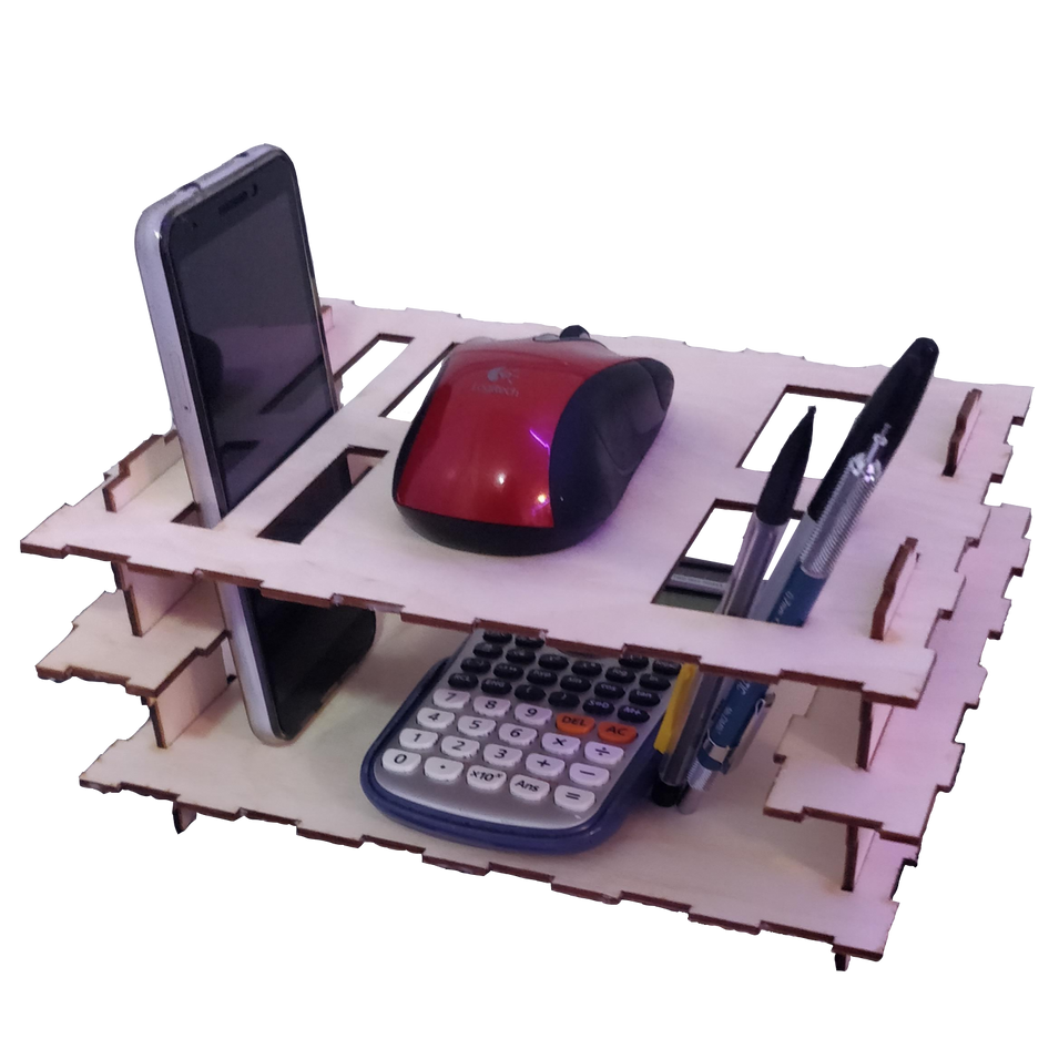 Assembled Desk Organizer