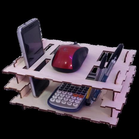 Assembled Desk Organizer