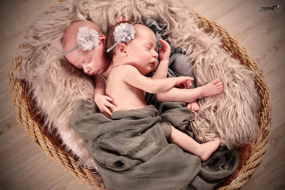 צילומי ניובורן לתאומים