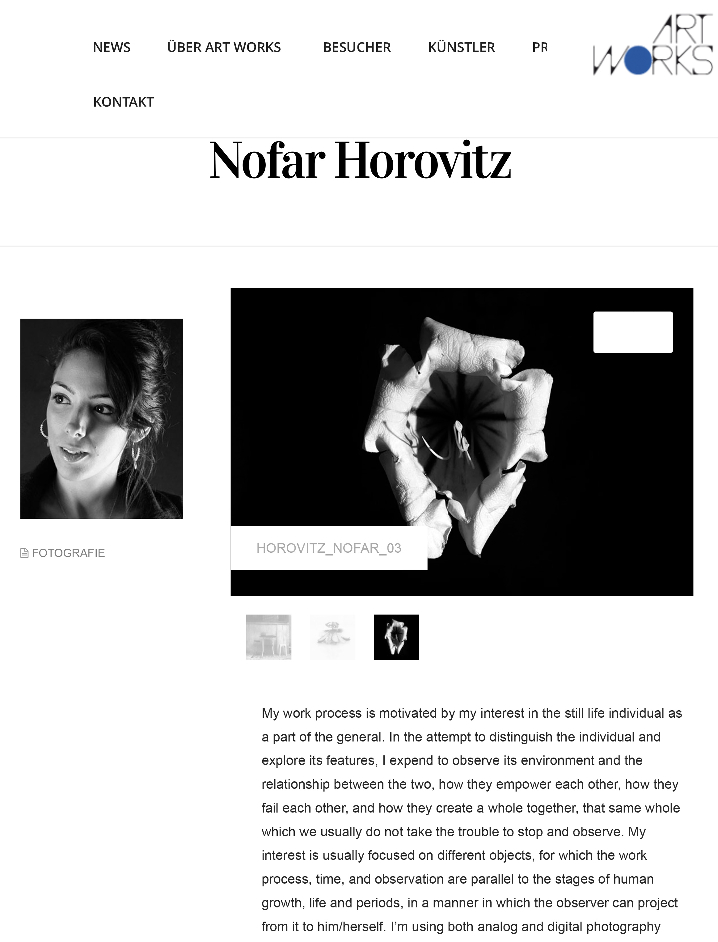 Art about Nofar Horovitz