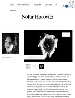 Art about Nofar Horovitz