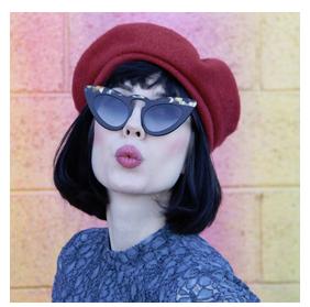 model: Pariss ( RVS Eyewear)