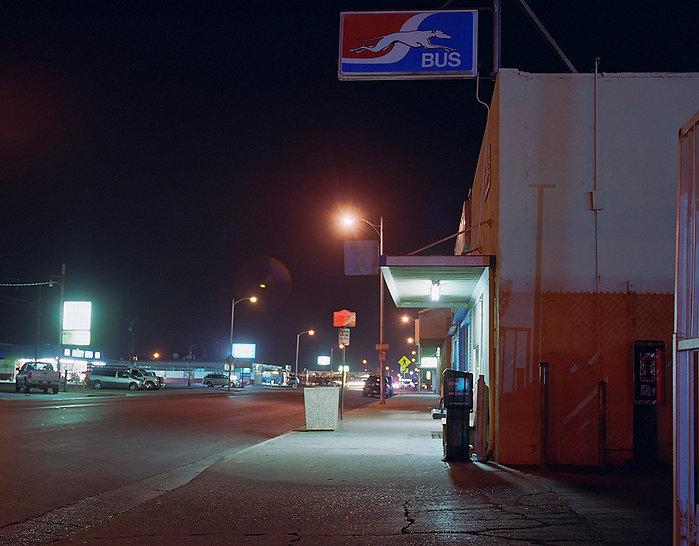 31 ( Delano Greyhound Station, Californi